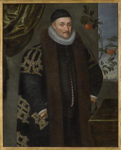 Daniël van de Queborn [toegeschreven aan], Portret van Willem van Oranje, ca. 1575, Haags Historisch Museum, inventarisnummer 0000-0050-SCH