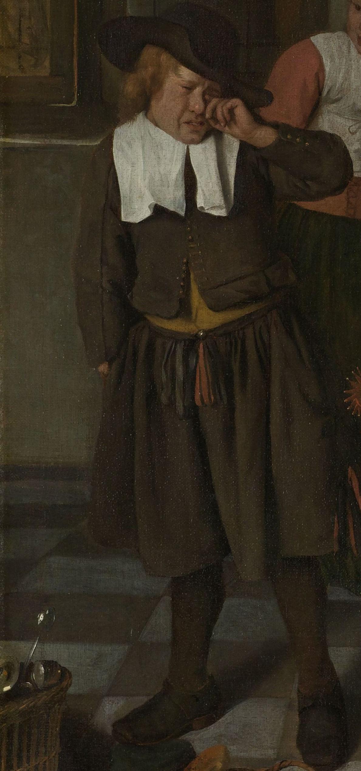 Sint Nicolaasfeest Rijksmuseum.Uitsnede Uit Jan Steen Het Sint Nicolaasfeest 1665 1668